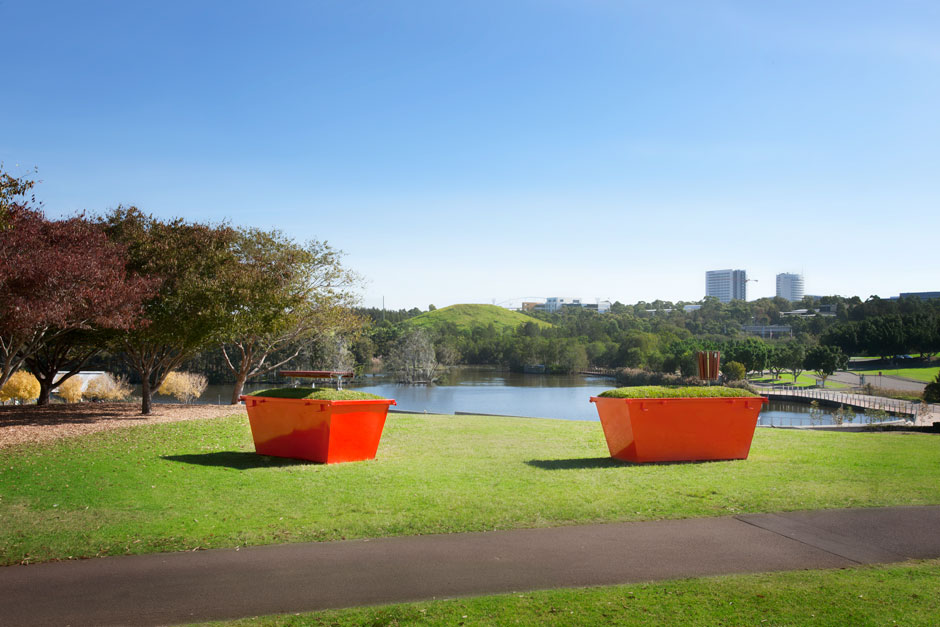 Bicentennial Park Is Reclaimed Land Developed In 1988 Over A Landfill Site Western Sydney This Work Reaffirms The History And Uses Of